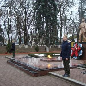 Митинг в День памяти неизвестного солдата прошёл в Новопавловске (фото 5)