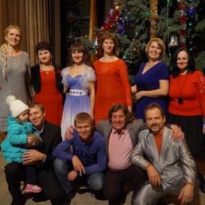 Большой рождественский концерт в ДК г. Новопавловска (фото 1)