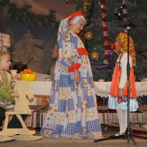 Большой рождественский концерт в ДК г. Новопавловска (фото 3)