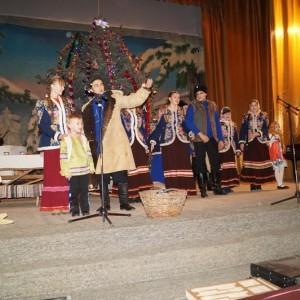 Большой рождественский концерт в ДК г. Новопавловска (фото 2)