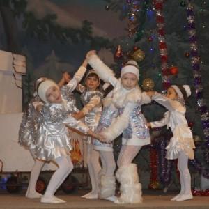 Большой рождественский концерт в ДК г. Новопавловска