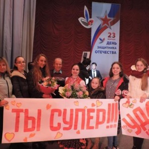 """В станице Марьинской состоялся концерт финалистов проекта """"У меня есть голос"""""""
