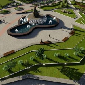 Разработаны дизайнерские эскизы благоустройства Новопавловска (фото 4)