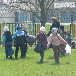 Школы городского округа приняли участие в акции, посвящённой Дню Земли (фото 3)