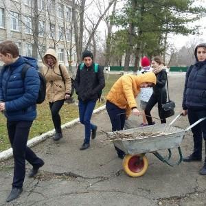 Школы городского округа приняли участие в акции, посвящённой Дню Земли (фото 1)