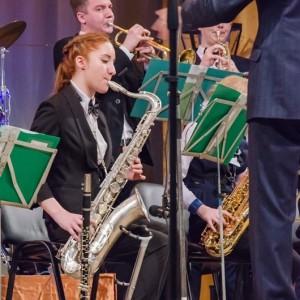 Эстрадно-духовой оркестр Новопавловска отметил своё 45-летие (фото 1)