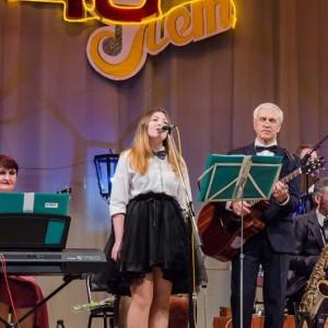 Эстрадно-духовой оркестр Новопавловска отметил своё 45-летие