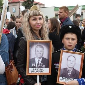 Новопавловск торжественно отметил День Победы (фото 3)