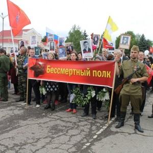 Новопавловск торжественно отметил День Победы