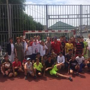 В Новопавловке состоялся открытый турнир по дворовому футболу