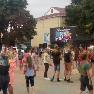 В Новопавловске прошёл фестиваль красок