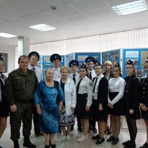 Кадеты познакомились с казачьей историей Новопавловска в городском музее (фото 1)