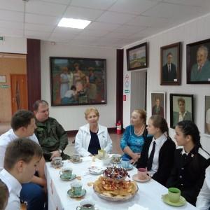 Кадеты познакомились с казачьей историей Новопавловска в городском музее