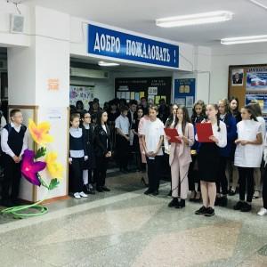 Молодая гвардия поздравляет учителей! (фото 4)
