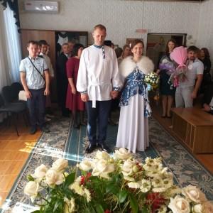 В день рождения города Новопавловска три пары зарегистрировали брак