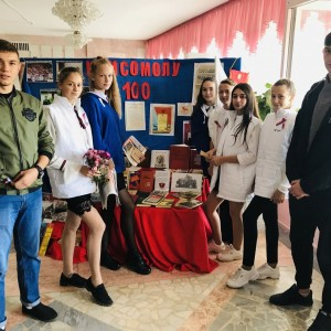 В Новопавловске отметили 100-летие Комсомола (фото 2)