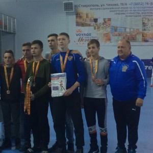 Новопавловские школьники завоевали бронзу по мини-футболу