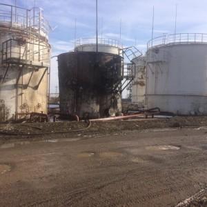Пять человек пострадали при пожаре на предприятии Новопавловска