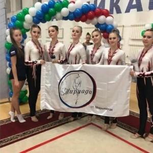 Гимнастки Новопавловска и Марьинской стали призёрами в Открытом Первенстве в Нальчике (фото 1)