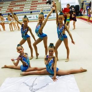 Гимнастки Новопавловска и Марьинской стали призёрами в Открытом Первенстве в Нальчике