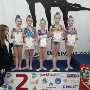 Гимнастки Новопавловска и Марьинской стали призёрами в Открытом Первенстве в Нальчике (фото 7)