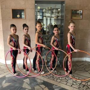 Гимнастки Новопавловска и Марьинской стали призёрами в Открытом Первенстве в Нальчике (фото 5)
