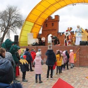 В Новопавловске отметили начало Масленицы (фото 4)