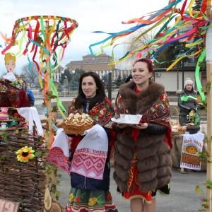 В Новопавловске отметили начало Масленицы (фото 6)