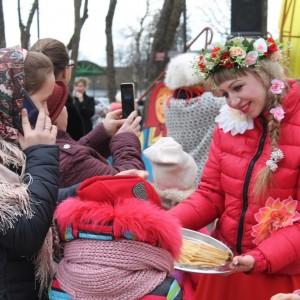 В Новопавловске отметили начало Масленицы (фото 3)
