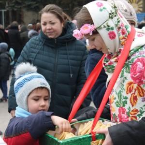 В Новопавловске отметили начало Масленицы (фото 1)