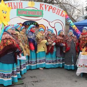 В Новопавловске отметили начало Масленицы (фото 9)