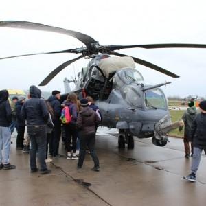 Экскурсия в войсковую часть для школьников