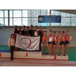 Наши гимнастки заняли призовые места в Первенстве края по эстетической гимнастике (фото 4)
