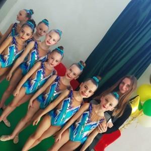 Наши гимнастки заняли призовые места в Первенстве края по эстетической гимнастике (фото 2)