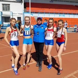Легкоатлетки Кировского округа заняли первое место на Чемпионате Ставропольского края