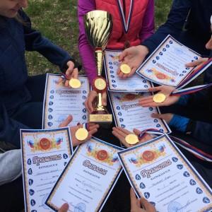 Команда легкоатлетов Кировского округа завоевала победу в краевых соревнованиях