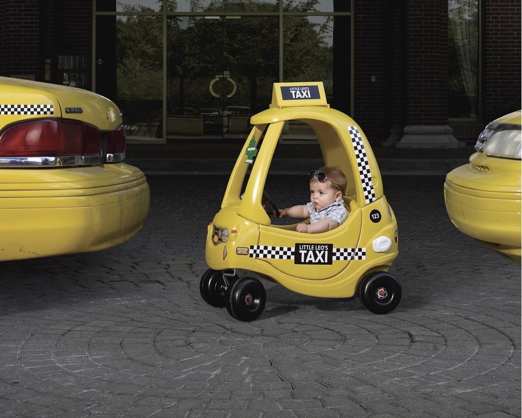 Будущий таксист Новопавловска