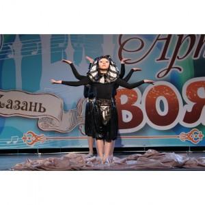 Наши гимнастки и юная артистка вернулись с наградами из города Казань (фото 15)