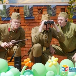 В Новопавловске отметили 74-ую годовщину Великой Победы (фото 8)