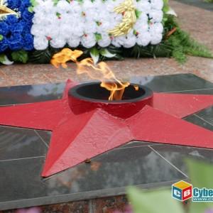 В Новопавловске отметили 74-ую годовщину Великой Победы (фото 4)