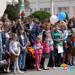 В Новопавловске отметили 74-ую годовщину Великой Победы (фото 5)
