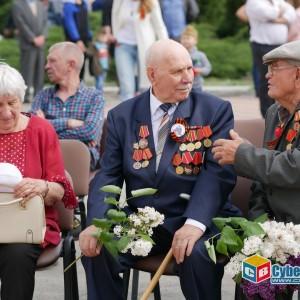 В Новопавловске отметили 74-ую годовщину Великой Победы
