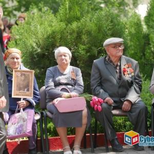 В Новопавловске отметили 74-ую годовщину Великой Победы (фото 6)