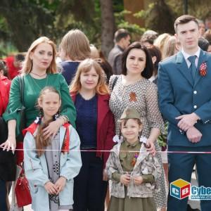 В Новопавловске отметили 74-ую годовщину Великой Победы (фото 19)