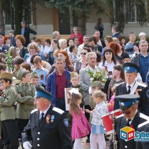 В Новопавловске отметили 74-ую годовщину Великой Победы (фото 9)
