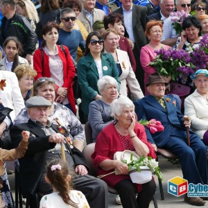 В Новопавловске отметили 74-ую годовщину Великой Победы (фото 14)