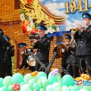 В Новопавловске отметили 74-ую годовщину Великой Победы (фото 16)