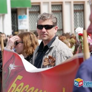 В Новопавловске отметили 74-ую годовщину Великой Победы (фото 15)