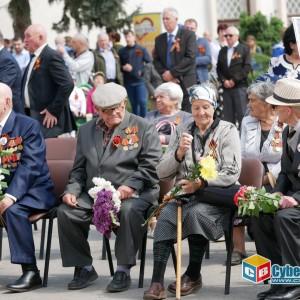 В Новопавловске отметили 74-ую годовщину Великой Победы (фото 18)