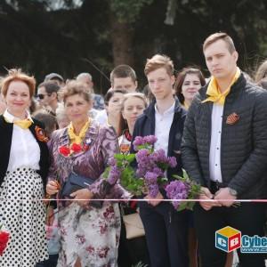 В Новопавловске отметили 74-ую годовщину Великой Победы (фото 10)